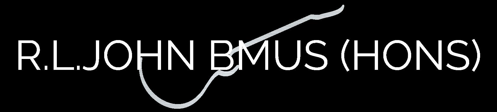 R.L.John BMus (Hons)