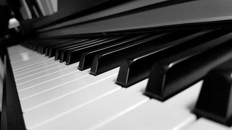 Yamaha Clavinova piano keyboard