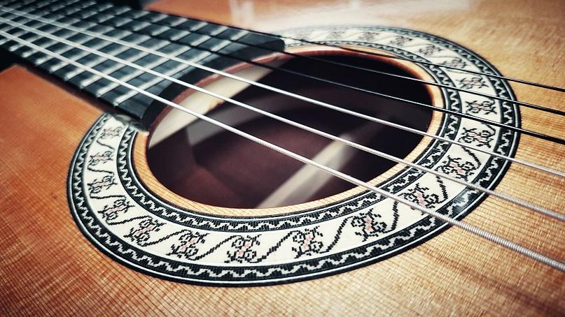 Admira classical guitar soundhole