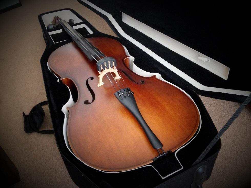 Cello in new case