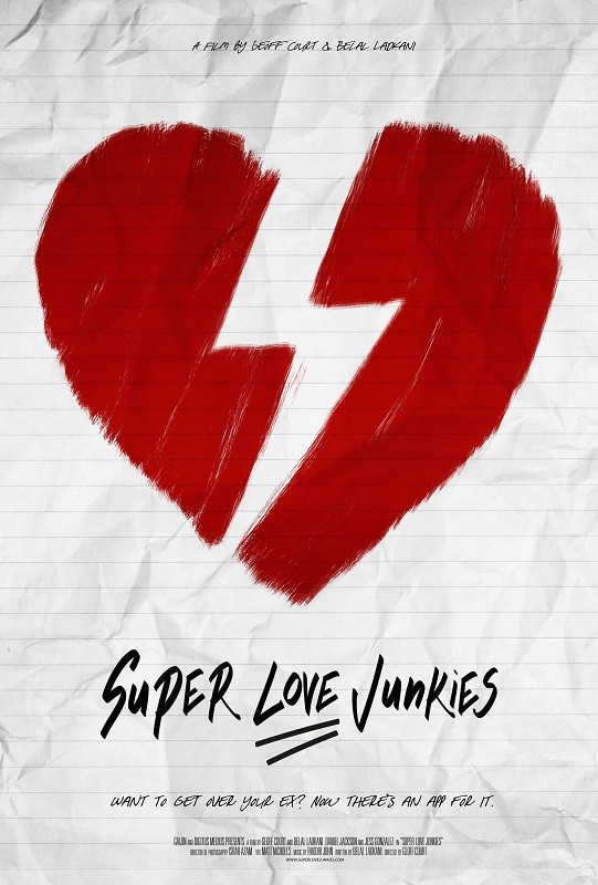 Super Love Junkies (film) one-sheet C